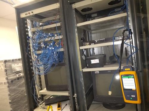 certificaçao de rede com fluke dsx 8000, modelo.954565256