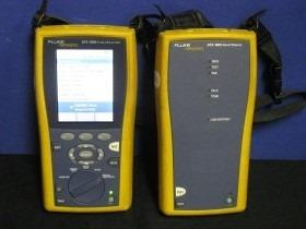 certificaçao de rede fluke dtx1800 11 95456-5256 conservado