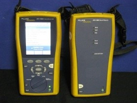 certificaçao de rede fluke dtx1800 preço a combinar