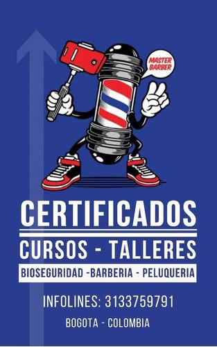certificacion de barbería