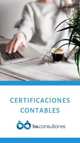 certificación de ingresos caba, contador público