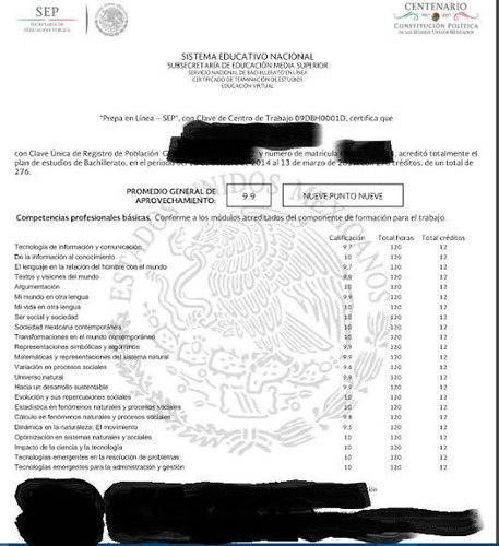 certificación en linea