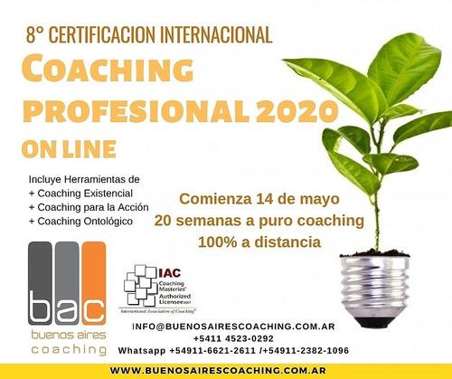 certificación internacional en coaching profesional on line