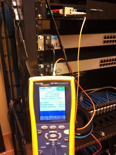 certificación ptos de red de voz, datos, fusionado f. optica