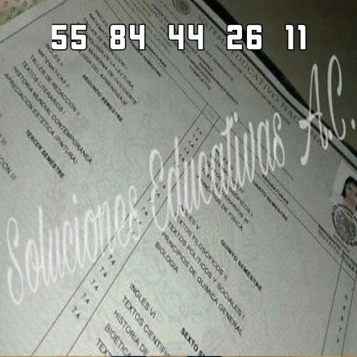 certificado de bachillerato y titulo profesional