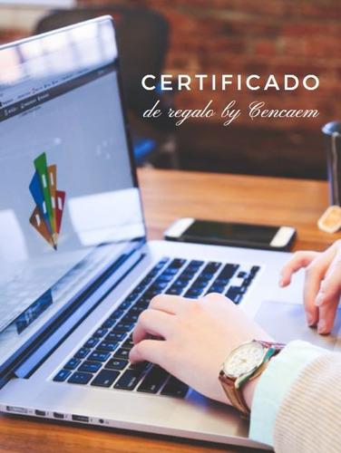 certificado de regalo para cursos en linea