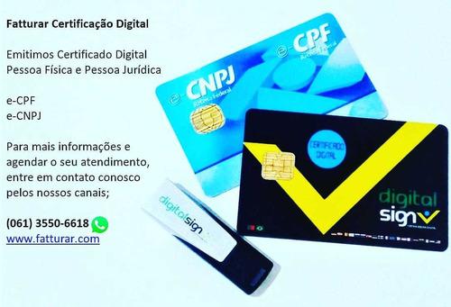 certificado digital por videoconferência