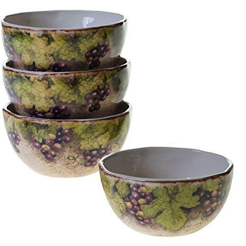 certificado internacional 25378set4 sanctuary wine ice bowls