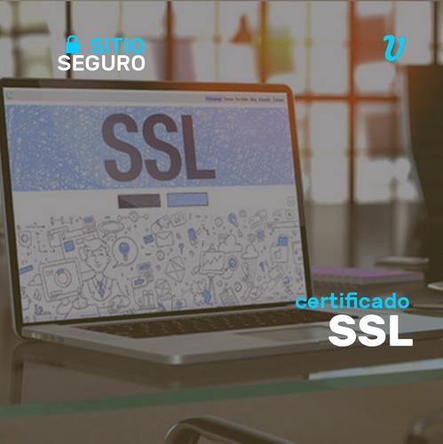 certificado ssl pagina web x 1 año sitio seguro