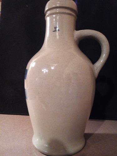 cervecería quilmes porrón cerámica inglés botella antigua