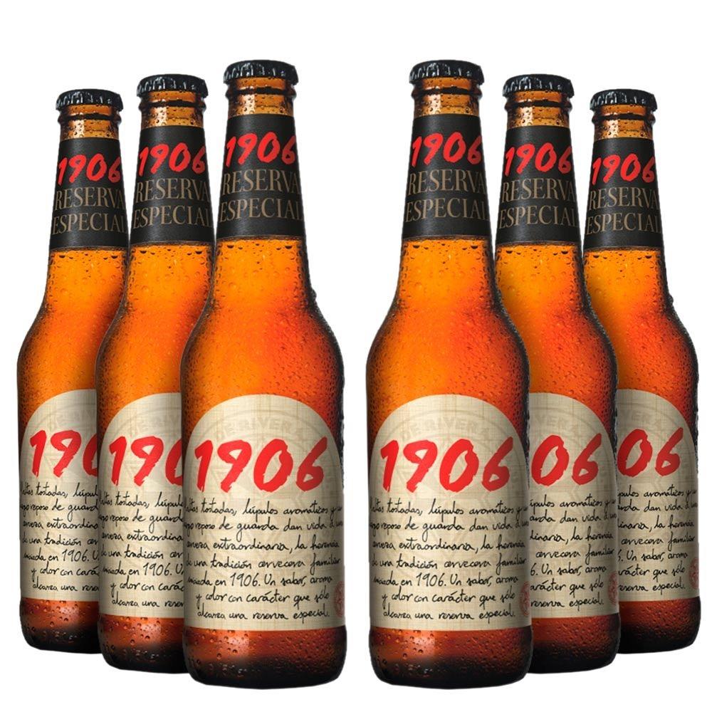 cerveja 1906 reserva esp fardo com 24 un 330 ml brinde r 149