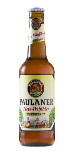 cerveja alemã paulaner weiss garrafa 330ml