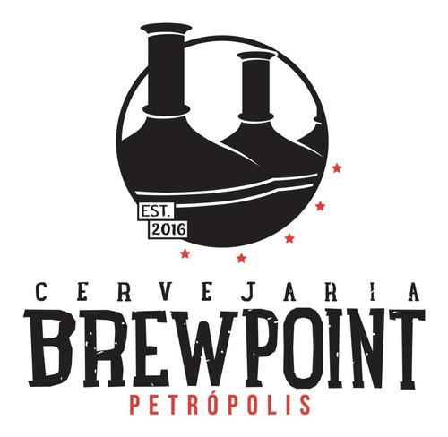 cerveja artesanal brewpoint dunkel 500ml - kit 6 garrafas.
