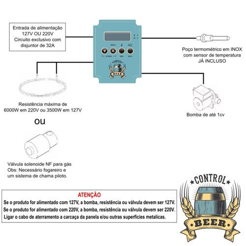 cerveja artesanal controlador automático brassagem ardbir
