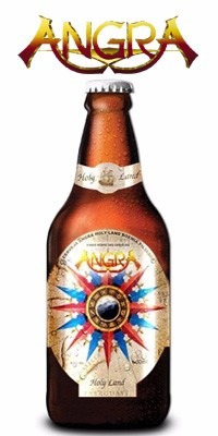cerveja banda angra holy land - 600ml - vencida