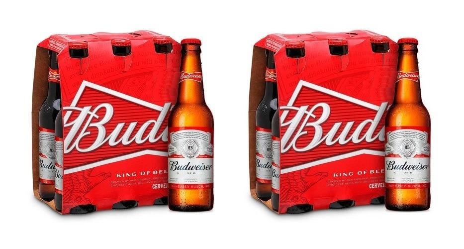 d4e1f9f3ca9a7 cerveja budweiser 330ml american lager 2 caixas 6 long neck. Carregando  zoom.