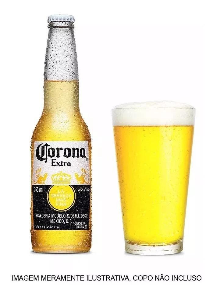 d3c618269e Cerveja Corona Extra 355ml Caixa Com 24 Unidades - R$ 119,76 em ...