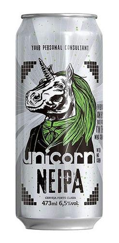 cerveja unicorn neipa lata 473 ml