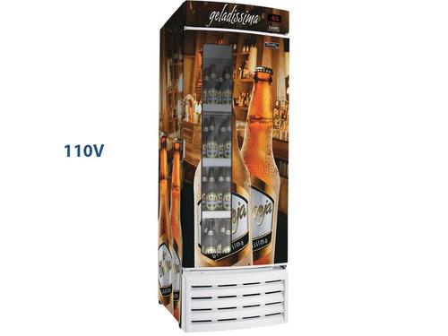 cervejeira esmaltec 561l frost free display digital c/ vidro