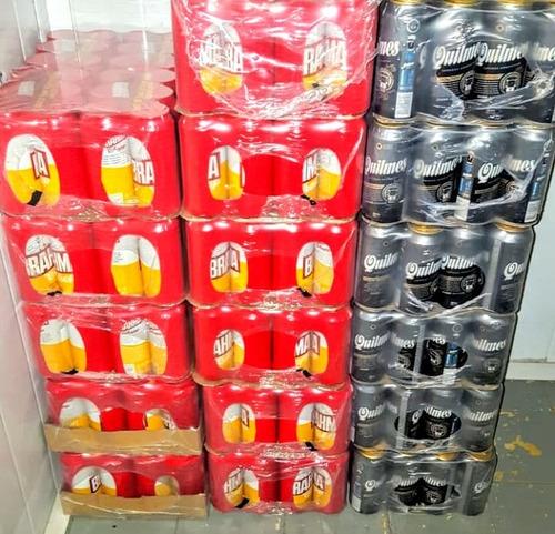 cerveza 12 latas por $620