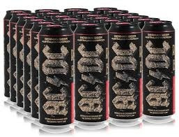 cerveza ac/dc premium lata 568cm3 importada de alemania