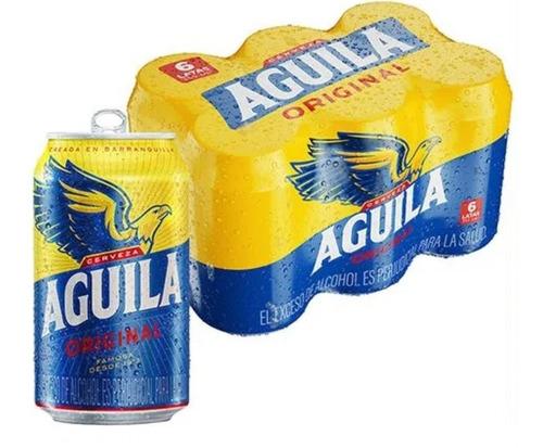 cerveza aguila x 96 unidades de 355 cc - ml a $6