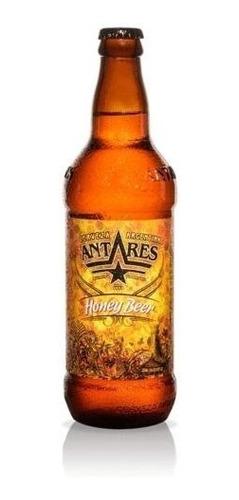 cerveza artesanal antares - honey caja x 12