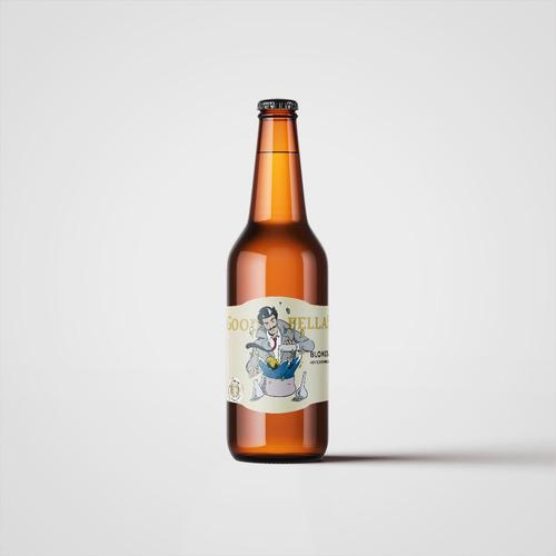 cerveza artesanal goodfellas blonde ale 500ml pack x12