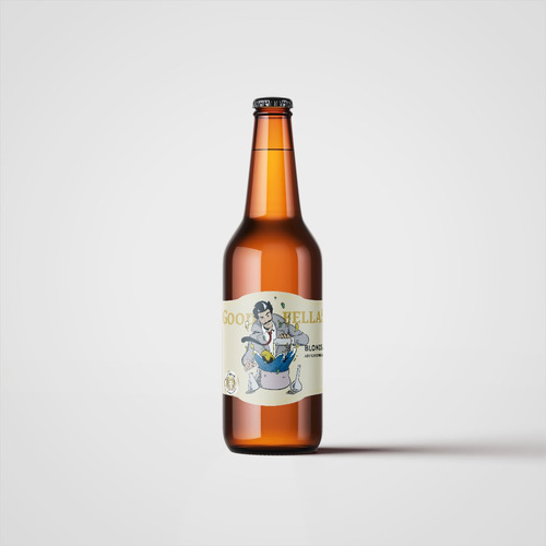 cerveza artesanal goodfellas blonde ale 500ml pack x24