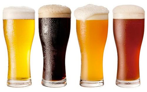 cerveza artesanal lager , muntons