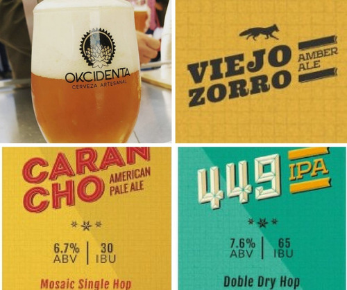 cerveza artesanal okcidenta - amber ale pack x 24.- nuñez