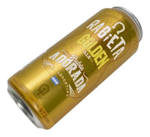 cerveza artesanal rabieta golden ale lata 473ml 01almacen