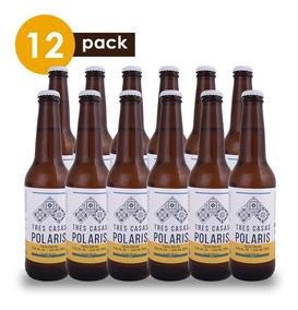 Cerveza Artesanal Tres Casas Polaris Cervexxa Beerpack 12