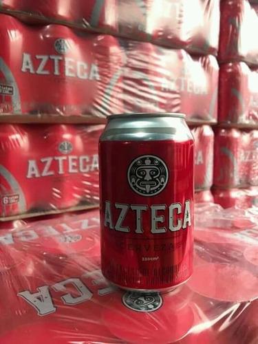 cerveza azteca - ml a $6