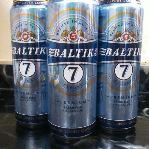 cerveza baltika 7 importada rusia ,ret cerca canch de ferro