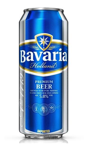 cerveza bavaria importada holanda lata 500 ml  pack x 6