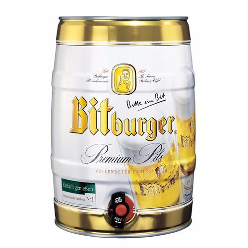 cerveza bitburger barril de 5 litros -zona norte- alemania