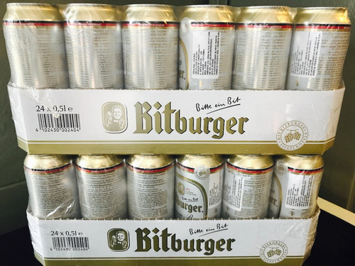 cerveza bitburguer lata 500cc