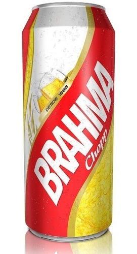 cerveza brahma de 473cc x12