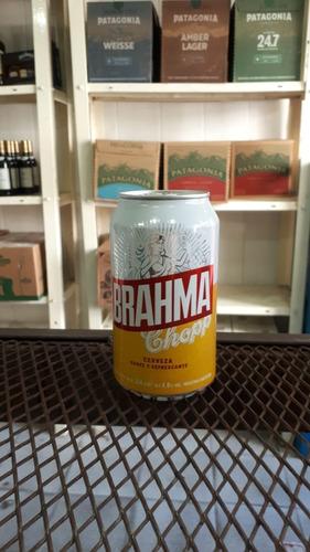 cerveza brahma lata 354ml! comercializadora segurola