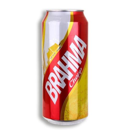 cerveza brahma lata 473,  floresta, caba