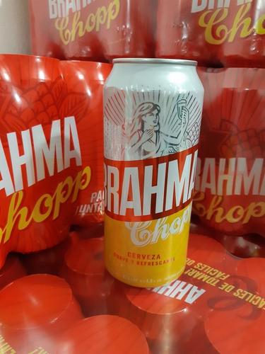 cerveza brahma lata 473ml
