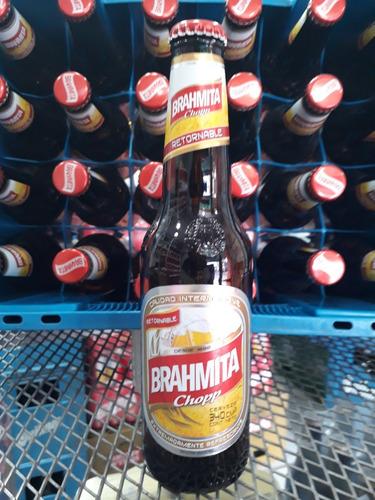 cerveza brahma porrón 340 ml. (retornable) oferta!! floresta