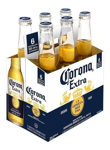 cerveza corona porron 355ml x 12 unidades