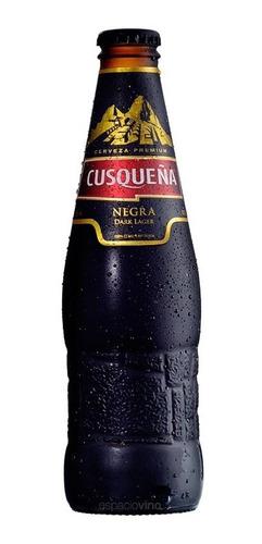 cerveza cusqueña negra dark lager 330 ml