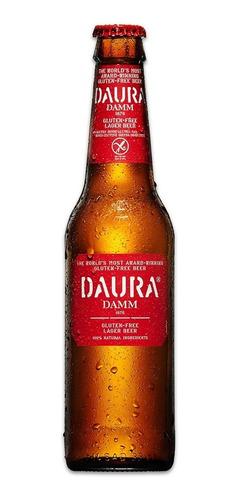 cerveza  daura damm bot 330 ml*
