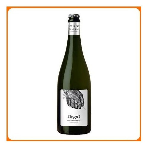 cerveza de bodega maal wines ilegal bohemian pale ale 750cc