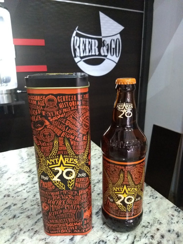 cerveza de guarda antares 20 años
