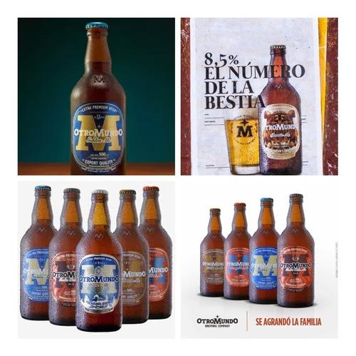cerveza de otro planeta! otro mundo 500ml precio y calidad.-