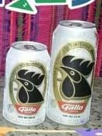 cerveza gallo 16 onzas